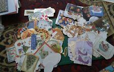 Joblot bundle 100s Christmas toppers embellishments card stock Hunkydory Kanban