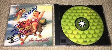 SCOTT WEILAND & DEAN DELEO - SIGNED STONE TEMPLE PILOTS - PURPLE CD! STP ROCK!
