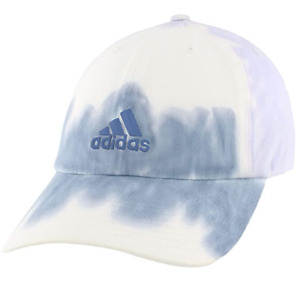 NEW! adidas Women Relaxed Color Wash Adjustable Cap-Ambient Sky Blue
