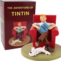 Figurine les aventures de Tintin BD Milou chien dessin animé statue modèle pvc