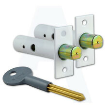Yale PM444 Door Security Rack Bolt Pack - 2 Bolts & 1 Key White