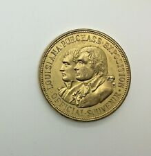 1904 HK-304 SC$1 Louisiana Purchase Exposition Gilt So Called Dollar
