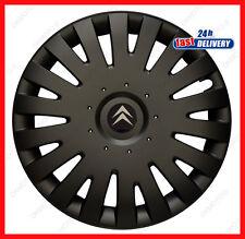 """4x15"""" Wheel trims for CITROEN Berlingo Van Nemo Xsara Picasso 15"""" - black"""