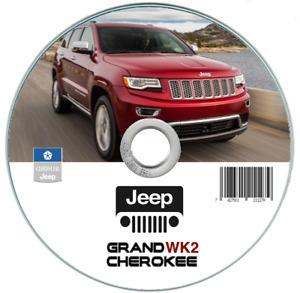 Jeep Grand Cherokee WK2 (2014-2020) manuale officina riparazione su cd