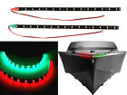 """Bow LED 12"""" Submersible Red Green Navigation Light Waterproof Marine Boat"""