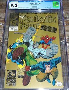 Fantastic Four #348 CGC 9.2 Marvel Comics (1991) 2nd Print Gold Variant