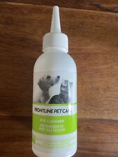 FRONTLINE PET CARE Eye Cleaner neutral cleansing solution debris stains 125ml