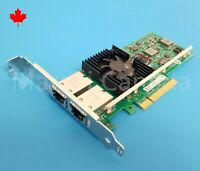 Intel X540-T2 Dual Port RJ45 10GB PCI-e Network Adapter Dell K7H46 3DFV8