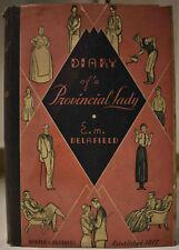 1934 DIARY OF A PROVINCIAL LADY E. M. DELAFIELD Arthur Watts Illustrations HCDJ