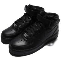 Wmns Nike Air Force 1 Mid 07 LE Black Out Women Shoes Sneakers AF1 366731-001