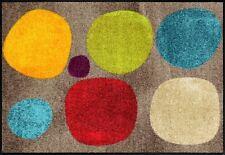 Fußmatte Punkte Design / Fußmatte Salonloewe SLD 1573 / Fußmatte Kreise Bunt