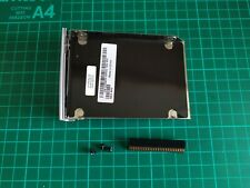 Dell Latitude D500 D600 Hard Drive Caddy Door HDD Tray Cover + Screws + Adapter