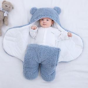 BABY SLEEPING BAG BOYS GIRLS Baby Sleeping Bag Ultra-Soft Fluffy Fleece Newborn