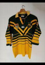 Australian Kangaroos Emus Jersey 2004 xxxx sponser patches vintage Canterbury