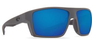 Costa Del Mar Sunglasses Bloke Matte Black Matte Gray Blue Mirror 580G