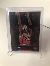 1998 Upper Deck MJx Bulls Basketball Card #135 Michael Jordan/Best of Times