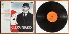 "RARE LP de 1969 de Vladimir COSMA BOF "" CLERAMBARD "" Chez CBS N° S7.63799 - BIEM"
