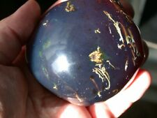 Beautiful BLUE Amber Fossil Gemstone GIANT 158.8 g TOP Quality Piece!