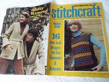 ORIGINAL, VINTAGE, STITCHCRAFT MAGAZINE, SEPTEMBER  1976 No. 513