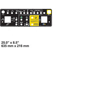 GENIE CONTROL PANEL DECAL 147575, 147575GT