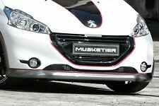 Frontspoiler Peugeot 208 Carbon-Look ABS Spoiler Lippe VERSANDKOSTENFREI NEU
