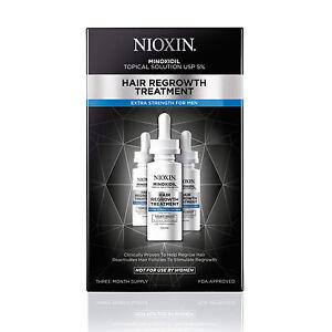 Nioxin Hair Regrowth Treatment (Men 5%) 2 oz / 60 ml 3 month supply