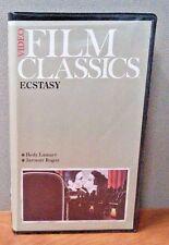Ecstasy   VHS    Hedy Lamarr      7018