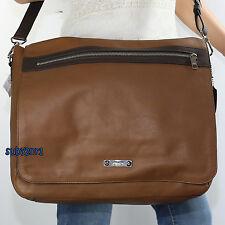 NWT Coach Men's Thompson Leather Crossbody Messenger Bag 71182 Saddle Brown NEW