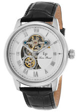 Lucien Piccard Optima Automatic Mens Open Heart Watch LP-12524-02