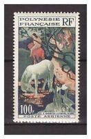 S20437) French Polynesie MNH 1958 Correo Aéreo Definitive 1v 100fr