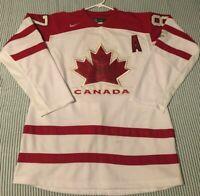 Team Canada CROSBY Nike Hockey Jersey XL 2010 Vancouver Olympics