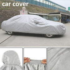 Full Car Cover Sun UV Heat Dust Rain Snow Resistant All Weather Protection CA