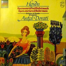 Haydn: Opera Overtures and Ballet Music Lausanne Ch Orch Dorati Lp Vinyl Philips
