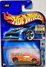 Hot Wheels 2003 Track Aces Speed Blaster #192 Orange Factory Sealed