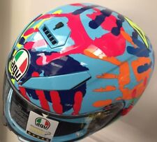 M/L 58CM AGV K3SV #46 #VALE #ROSSI MISANO HANDS NEW FOR 2018 MOTORCYCLE HELMET