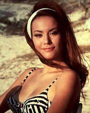 """Claudine Auger James Bond 007 10"""" x 8"""" Photograph no 20"""