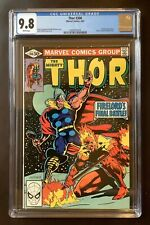 Thor #306, CGC 9.8, White Pages, 4/1981, Firelord
