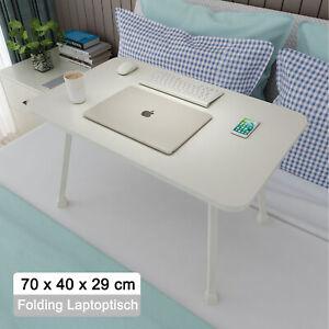 70x40cm Klappbar Laptoptisch Notebooktisch Bett Tisch Tablett PC Ständer Tablet