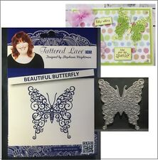 Beautiful Butterfly metal die - Tattered Lace cutting dies animals insects D1081