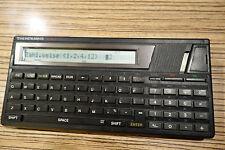 Texas Instruments TI 74 Datenbank Deutsche Bank Werbung (88)