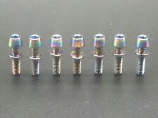 7*Titanium Ti Ritchey C260 Superlogic Carbon Matrix WCS Stem Screws Bolt Rainbow