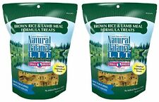 Natural Balance L.I.T. Limited Ingredient Treats Brown Rice & Lamb Meal 8 oun...