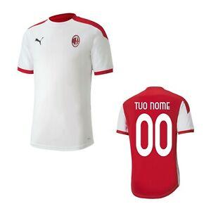 Maglie da calcio di squadre italiane bianco per bambini AC Milan ...