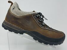 Timberland Smartwool Mens Hiking Shoe Size 14 Brown Leather Lace Up