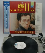 ELVIS COSTELLO PUNCH THE CLOCK / JAPAN WITH OBI