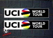 ADESIVO STICKER AUTOADESIVO ADESIVI AUFKLEBER DECAL ADESIVO UCI WORLD TOUR
