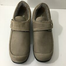 "Barefoot Freedom By Drew Taupe Suede ""Antwerp"" Shoe Sz 7W New Ortho Comfort"