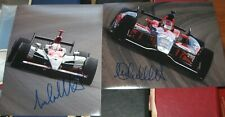 Michael Marco Andretti Motersports SIGNED 8X10 Photos COA Racing Autographed