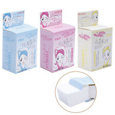 100pcs Cotton Fibre Puff Makeup Sponge Cleaning Pads Face Facial Cosmetic Tools