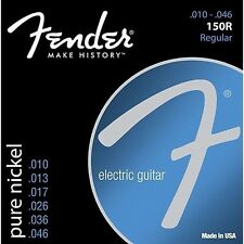 Fender Original 150R Pure Nickel Electric Guitar Strings Regular Gauge 10-46